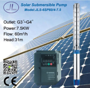 6sp60 Centrifugal Submersible Solar Water Pump pictures & photos