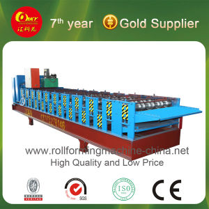 Corrugated Color Steel Roof Panel Cold Roll Forming Machine pictures & photos