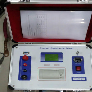 100A to 600A Portable Circuit Breaker Contact Resistance Tester pictures & photos