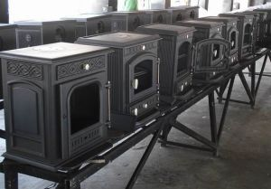 Factory Directly Supplied Cast Iron Stove, Wood Burning Stove (FIPA 013) pictures & photos