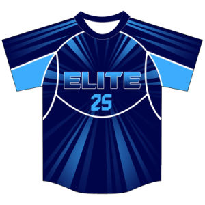 Customized Design Dye Sublimation Baseball Tees for Players pictures & photos
