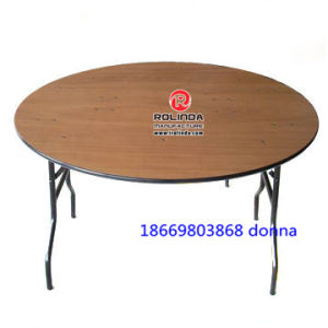 Plywood Folding Table for Banquet pictures & photos