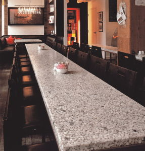 Solid Surface for Countertop 2014 Hot Stone Panel for Table Top pictures & photos