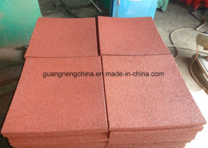 30mm Thick Rubber Flooring Tiles Wear-Resistant Rubber Tile pictures & photos