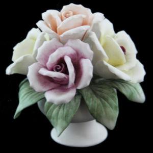 Rose Handicrafts (E9-1 size: 7.5X7.5X8.4CM)