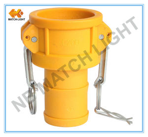 """Nylon 1/2"""" to 4"""" Injection Moulding Cam&Groove Coupling pictures & photos"""