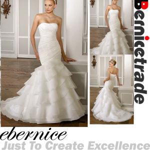 New Stock Mermaid Wedding Bridal Dress Evening Ball Gown (F164)