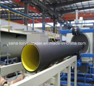 PE/PVC Double Wall Corrugated Pipe Machine/Plastic Extrusion Line pictures & photos