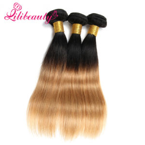 Malaysian Remy Hair Weave 100% Ombre Human Hair pictures & photos
