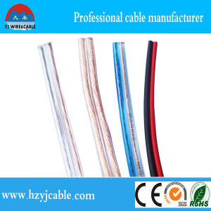 Factory Flexible Wire Speaker Cable, Audio and Video Cable, Transparent Speaker Cable pictures & photos