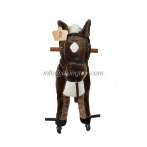 Walking Spring Rocking Horse Plush Toy pictures & photos