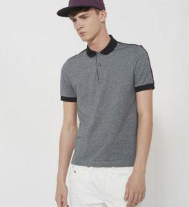 Best Sale Fashion Model Contrast Color Plain Casual Men′s Polo Shirt pictures & photos