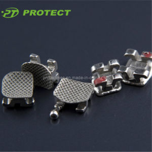 Dental Orthodontic Metal Bondable Standard/Mini Mbt Brackets, 0.018/0.022, CE/PDA/ISO (1017/1018) pictures & photos