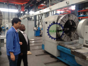 Hot sale and high precision pipe threading lathe machine pictures & photos