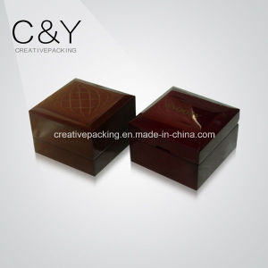 Red Ring Jewelry Wood Packaging Box pictures & photos