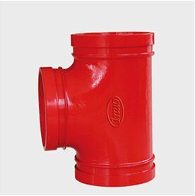 Offering Ductile Iron Equal Tee (grooved) with FM/UL Approved pictures & photos