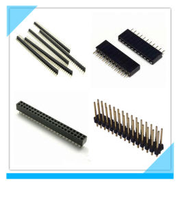 Manufacturer Custom Electronic PCB Pin Header 1mm Pitch pictures & photos