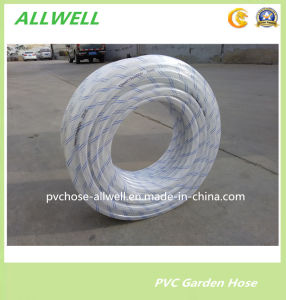 "PVC Flexible Shower Tube Hose Pipe Fiber Braided Garden Hose 1"" 2"" pictures & photos"