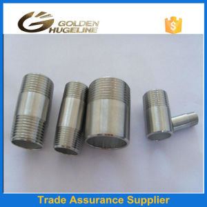 One Side Thread The Other Side Welding Nipples Pipe Fittings pictures & photos