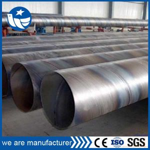 ERW LSAW SSAW Welded Awwa C200 C210 Water Steel Pipe Line pictures & photos