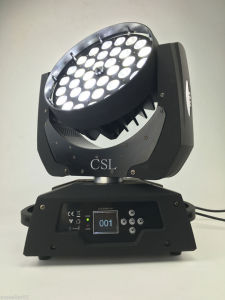 36*18W LED Moving Head Wash Light with Zoom pictures & photos