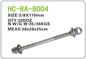 Bicycle Parts Steel Axle (RA-8004) pictures & photos