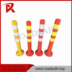 Wholesale Price Traffic Safety Reflective Road Delineator, Spring Post pictures & photos