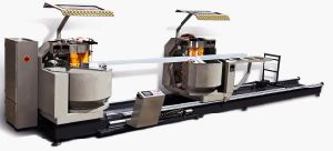 Kt-383f/Dg CNC Curtain Wall Profile Double Head Cutting Machine (for cutting compound angle) pictures & photos