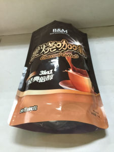2016 China Factory Wholesale Plastic Coffee Bag with Ziplock pictures & photos