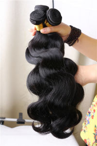 Body Wave Brazilian Virgin Hair, Unprocessed Raw Virgin Brazilian Hair pictures & photos