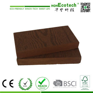 Promotional-Wood Plastic Composite Decking (Anti-UV, Water Proof) (HD140S23) pictures & photos