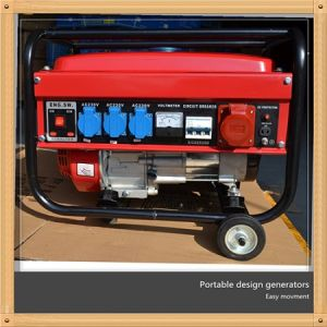 Taizhou 5kw Low Noise Home Use Standby Petrol Alternating Generator