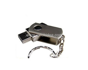 Hot Sell Little Fat Metel Swivel USB Memory/ USB Flash Drive/USB Flash Memory
