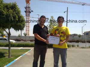 12ton Load Tower Crane-7031-Hongda Group pictures & photos