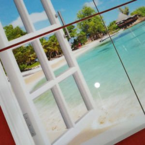 3D Wall Panel Sea World Background Nano Crystal Wall Tile pictures & photos