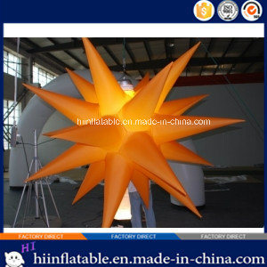 2015 Hot Selling LED Lighting Party, Event Ceiling Decoration Inflatable Star 019