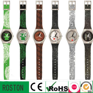 Promotional Design Plastic Watch Wrist Watch pictures & photos