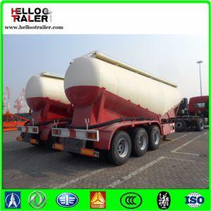 3 Axle 35cbm Bulk Cement Power Tank Trailer for Sale pictures & photos
