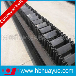 Ep Material Rubber Sidwall Conveyor Belt pictures & photos