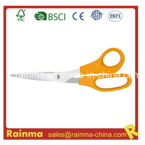 Plastic Orange-Handles with Sharply Blade Scissors pictures & photos