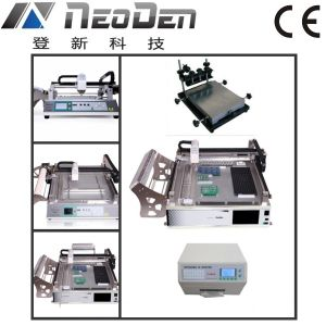 Benchtop SMT Assembly Production Line: Printer, Placer and Reflow Oven pictures & photos