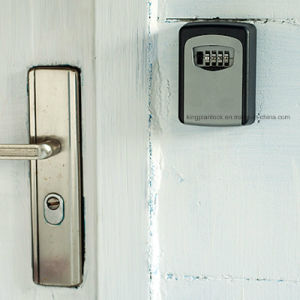 Mounted Key Storage Safe Box with Resettable Lock Combination pictures & photos