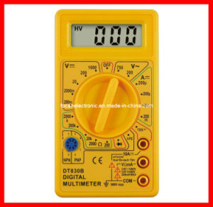 Digital Meter, Multimeter Analog Meter, Panel Meter Dt-830b with CE, RoHS pictures & photos