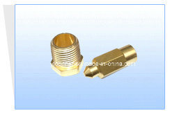 CNC Brass Push in Fittings for Precision Machinery Parts pictures & photos