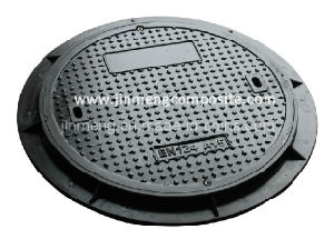 Composite Manhole Cover with Stainless Screws (A15/B125) pictures & photos