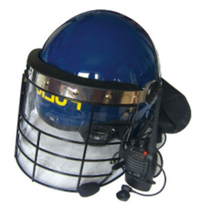 Anti-Riot Helmet with Frame for Police and Anmy pictures & photos