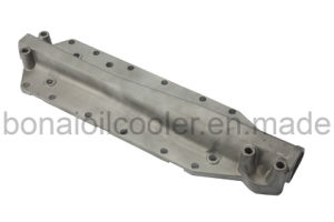 Komatsu Truck Parts, Oil Cooler Cover 6D125 (OEM: 6150-61-2123) pictures & photos