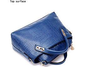 Fashion Women Messenger PU Leather Crossbody Handbags (54096) pictures & photos