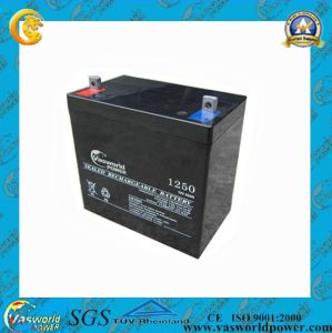 Vsaworld Power 12V50ah AGM Lead Acid Battery for Solar System pictures & photos
