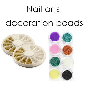 12 Color Nail Decoration Beads pictures & photos